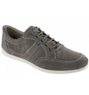 MAISON SUEDE+CANVAS U GREY 42