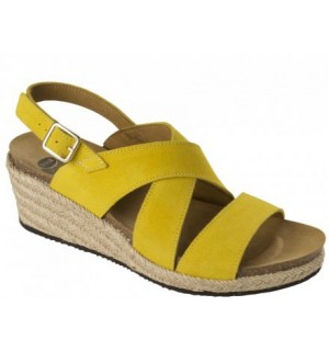 SOTIRIA SUEDE W YELLOW 37