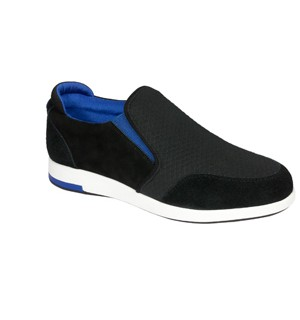 YORIA SLIP-ON TEXT+SUE W BLK39