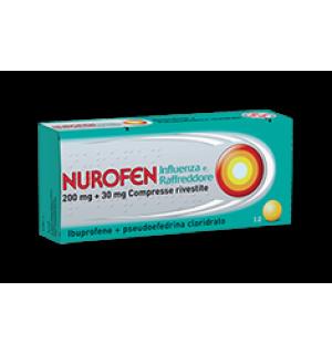 NUROFEN INFLUENZA RAFFR*12CPR