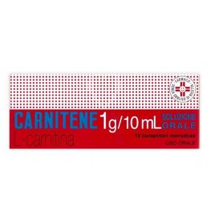 CARNITENE*OS 10FL 1G/10ML