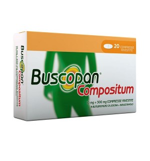 BUSCOPAN COMPOSITUM*20CPR RIV